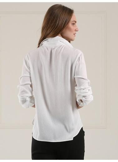 Baskılı Ve Nakışlı Gömlek-Faik Sönmez